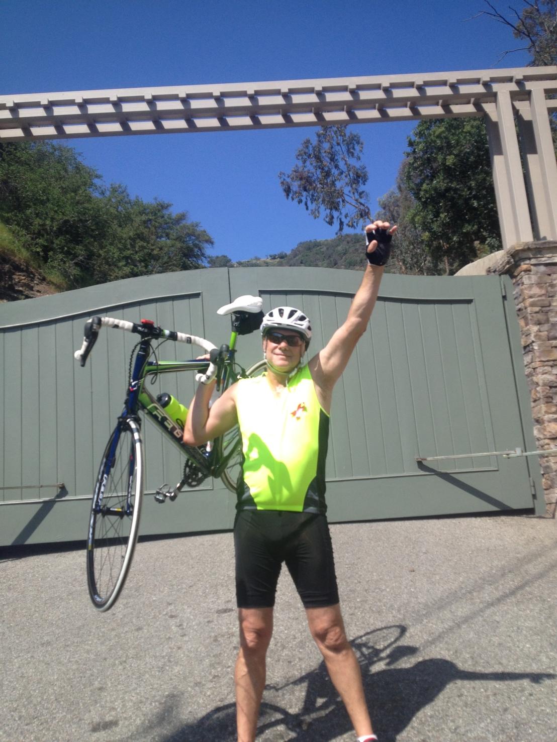 Howard Rudzki Rides to SaveLives